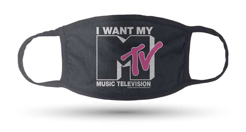 MTV Washable Face Masks - Pack of 3