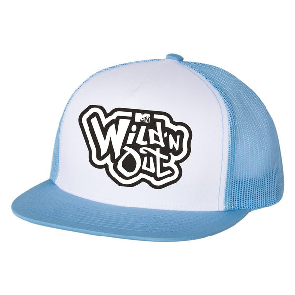 Wild 'N Out Logo Blue Trucker Hat