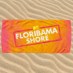 Floribama Shore Beach Towel