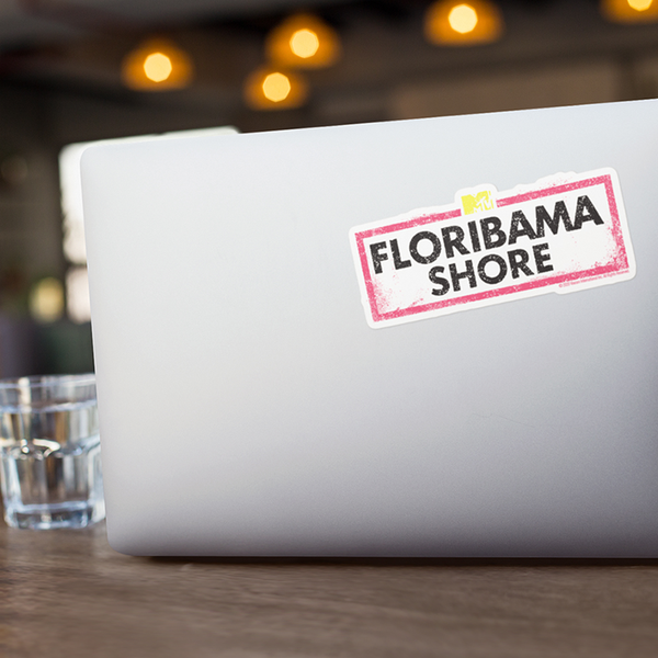 Floribama Shore Die Cut Sticker