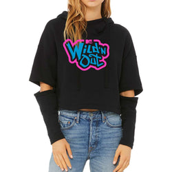 Wild 'N Out Neon Logo Women's Cut Out Hooded Sweatshirt