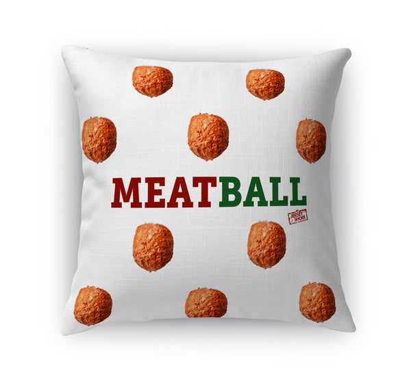 Jersey Shore Family Vacation Meatball Pillow