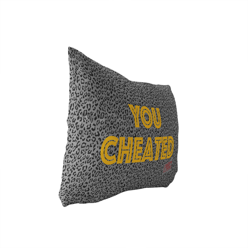 Jersey Shore Family Vacation You Cheated Lumbar Pillow