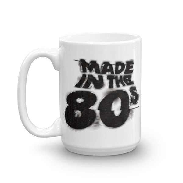 MTV Made in the '80s Glitch Coffee Mug