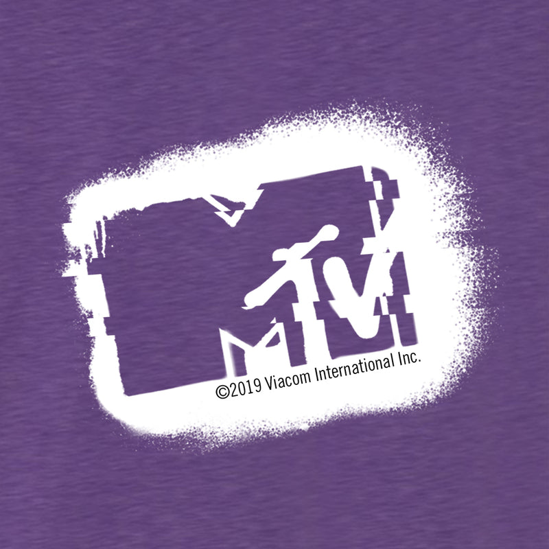 MTV Gear MTV Made in the 80's Glitch Women's Tri-Blend Dolman T-Shirt