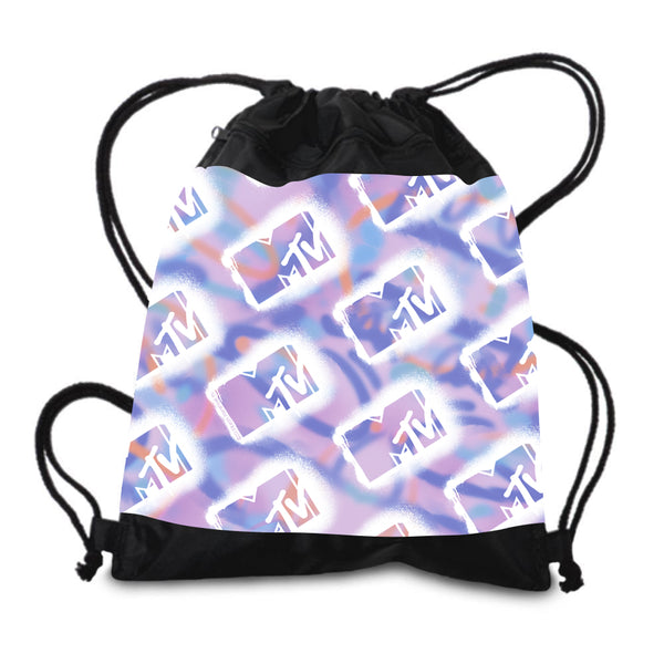 MTV Graffiti Drawstring Bag