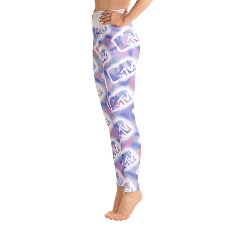 MTV Graffiti All-Over Print Leggings