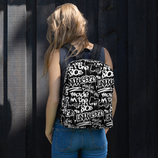 MTV Graffiti All-Over Print Backpack