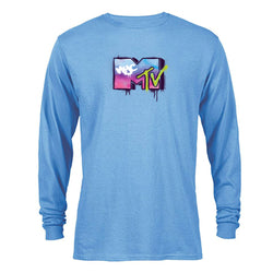 MTV Gear MTV Graffiti Adult Long Sleeve T-Shirt