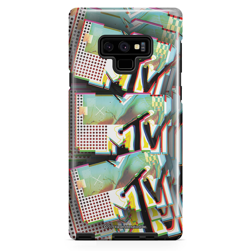 MTV Graffiti Pattern Tough Phone Case