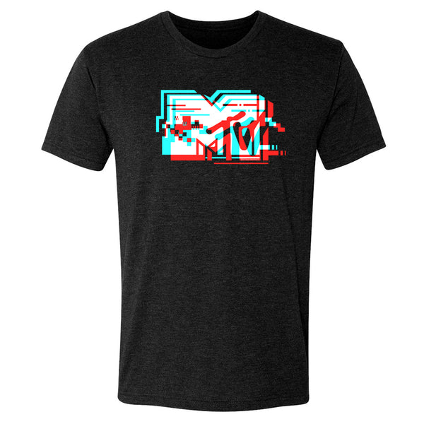 MTV Gear MTV Glitch Men's Tri-Blend T-Shirt