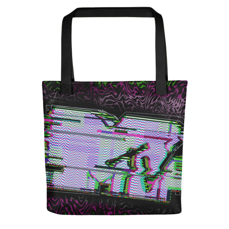 MTV Glitch Tote Bag