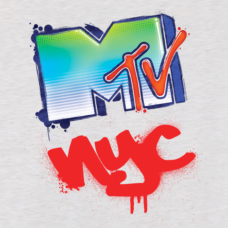 MTV Gear MTV Graffiti Women's Racerback Tank Top Women's Racerback Tank Top