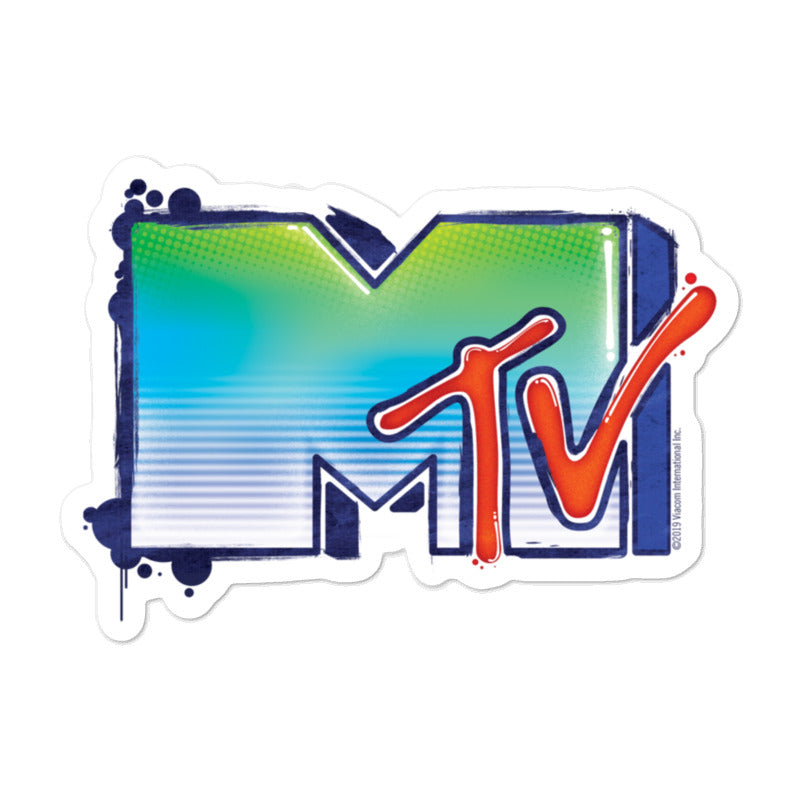 MTV Graffiti Die Cut Sticker Pack of 3
