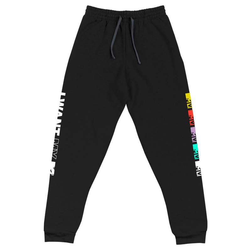 MTV Gear I want My Adult Fleece Joggers