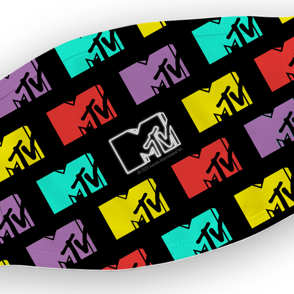 MTV Retro Logo Washable Face Mask