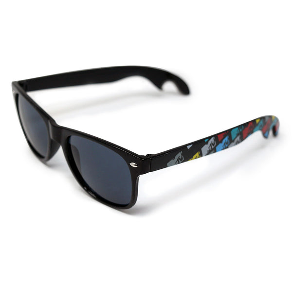 MTV Black Sunglasses with Bottle Opener