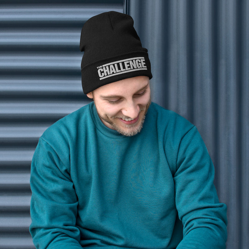 The Challenge Embroidered Beanie