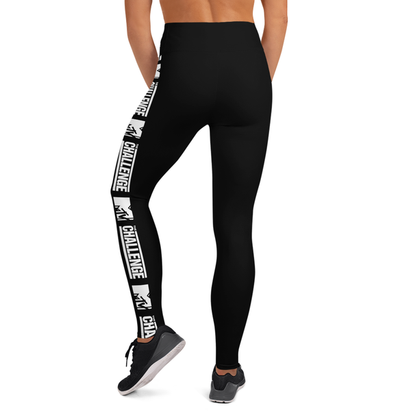 The Challenge Logo Women's All-Over Print Yoga Leggings