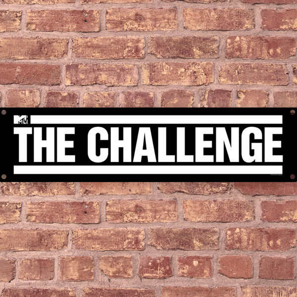 The Challenge Logo Metal Sign