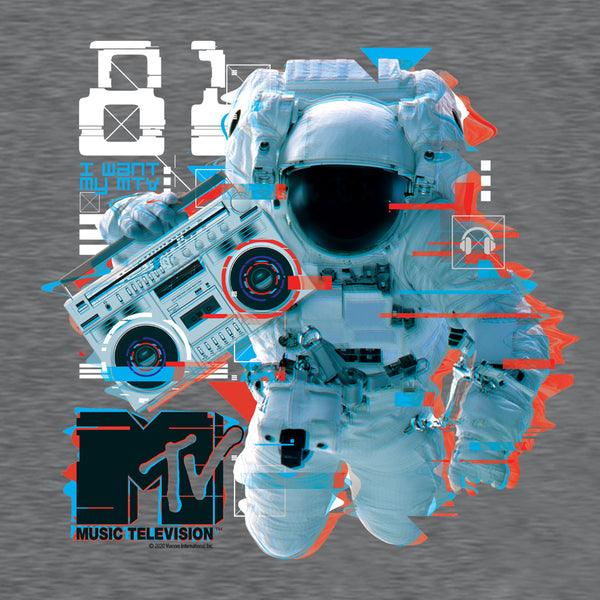 MTV VMA's Collection Boombox Adult Short Sleeve T-Shirt