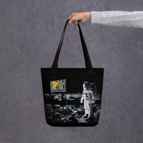 MTV VMA's Moonman Landing Tote Bag