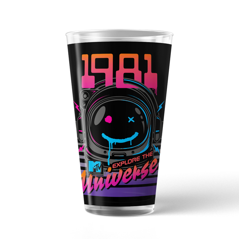 MTV VMA's Explore The Universe 17 oz Pint Glass