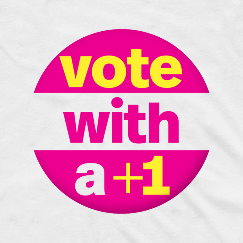 MTV +1 The Vote Adult Short Sleeve T-Shirt
