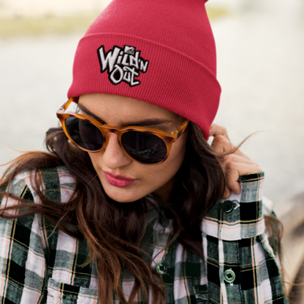 Wild 'N Out Logo Red Beanie
