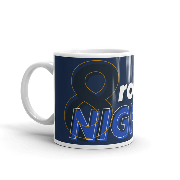 MTV Gear 8 Rockin Nights White Mug