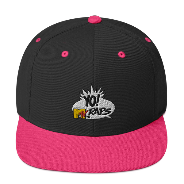 YO! MTV Raps Flat Bill Hat