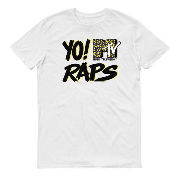Yo! MTV Raps Logo Adult Short Sleeve T-Shirt
