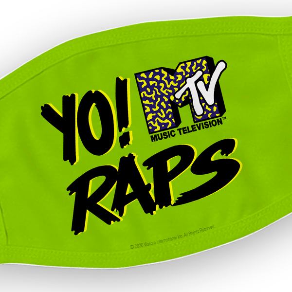 Yo! MTV Raps Washable Face Mask