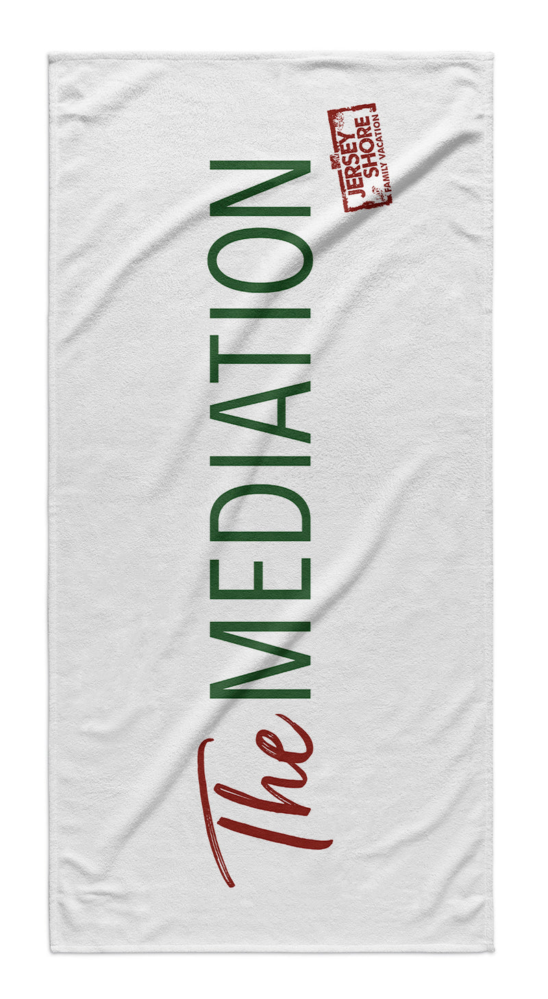 Jersey Shore Family Vacation The Mediation Beach Towel
