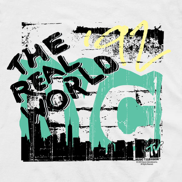 The Real World NYC Adult Short Sleeve T-Shirt