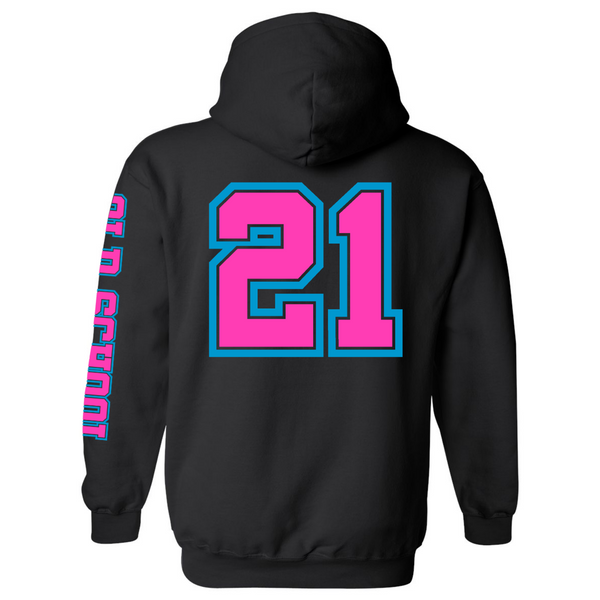 Wild 'N Out Neon Old School Hooded Sweatshirt