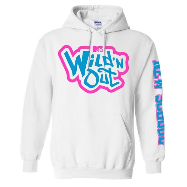 Wild 'N Out Neon New School Hooded Sweatshirt
