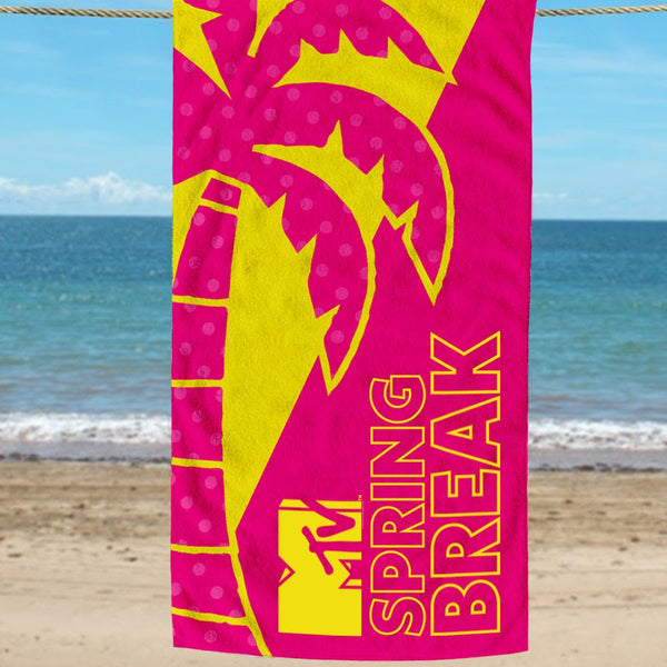 MTV Gear Spring Break 2020 Beach Towel