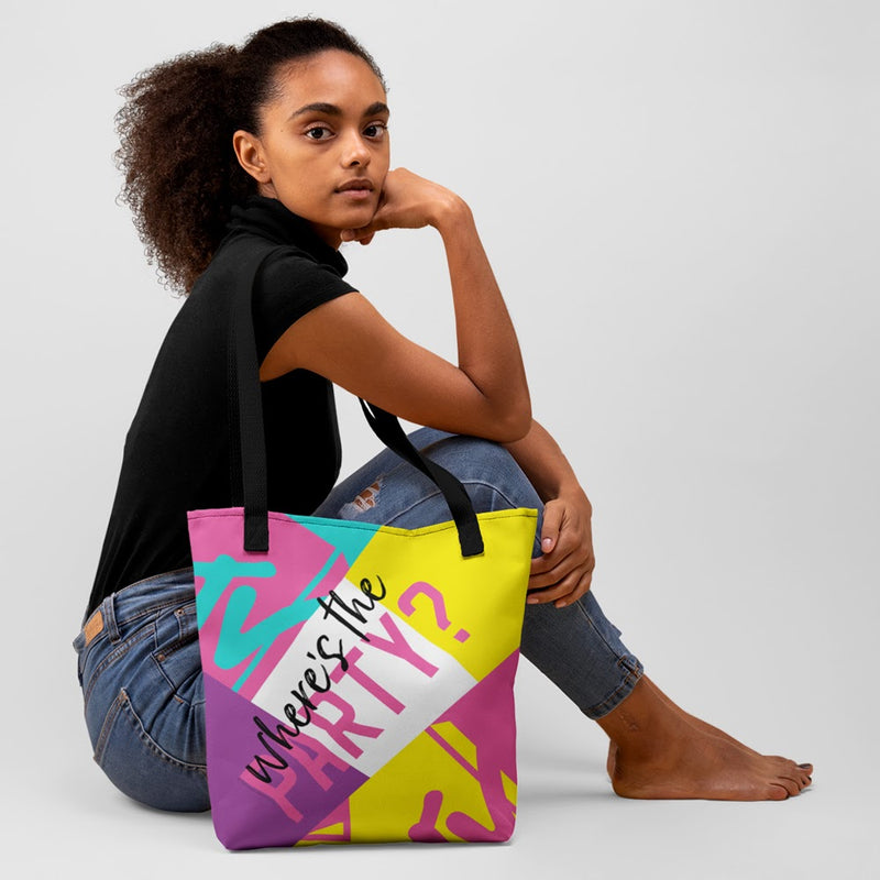 MTV Spring Break Where's The Party? Tote Bag