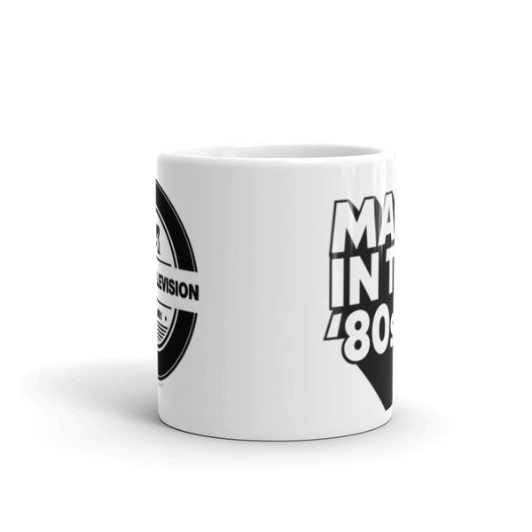 MTV Made in the '80s White Mug