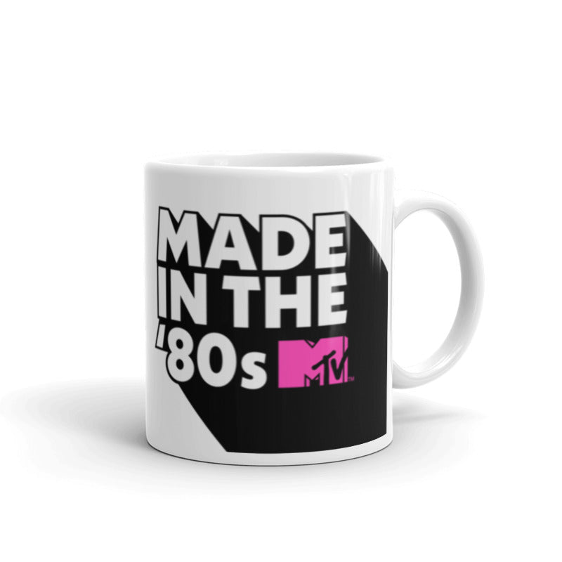 MTV Gear Made in the '80s White Mug
