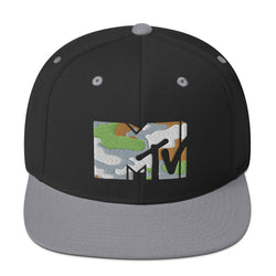 MTV Gear Camo Wool Blend Snapback