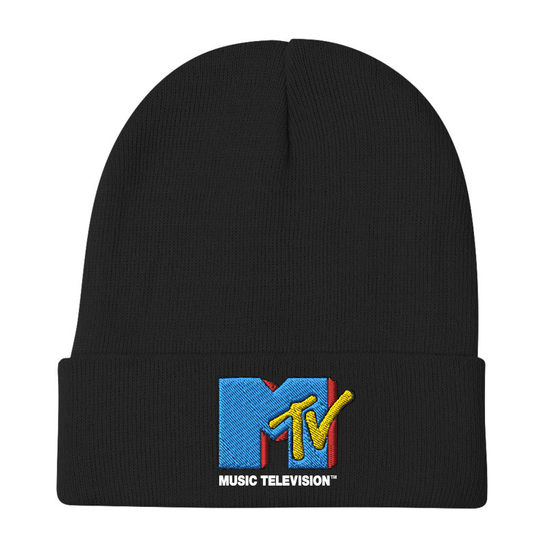 MTV Embroidered Beanie