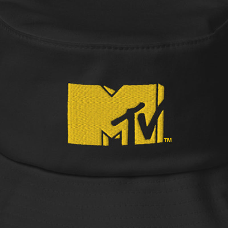 MTV Embroidered Bucket Hat