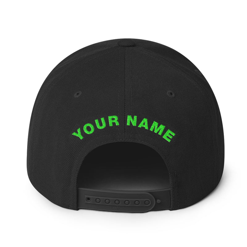 MTV Personalized Flat Bill Hat