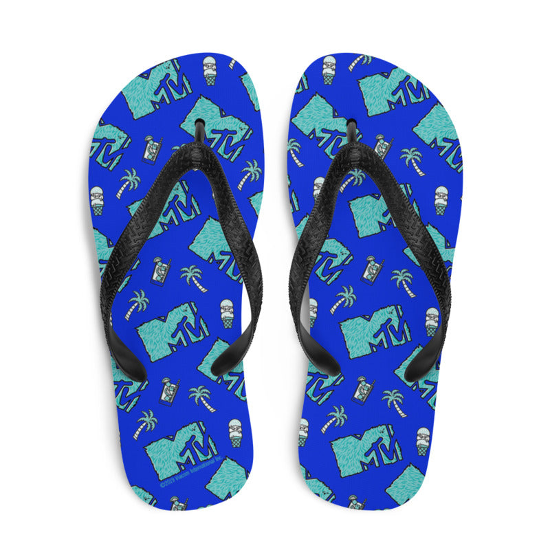 MTV Beachy Flip Flops