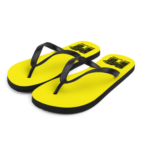 MTV Yellow Flip Flops