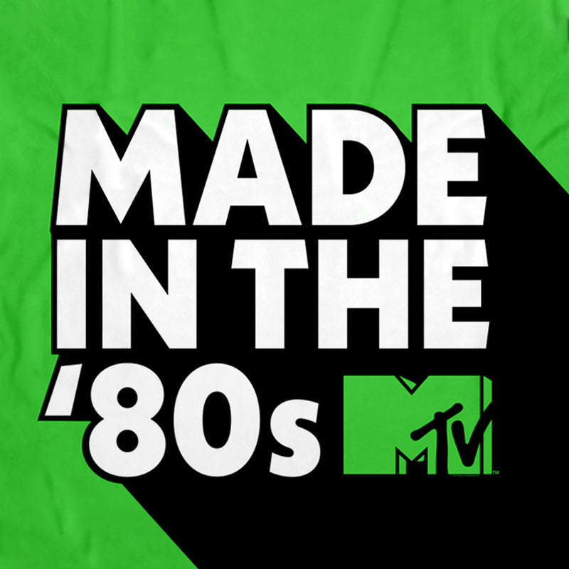 MTV Made in the '80s Sherpa Blanket