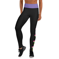 MTV Love Women's All-Over Print Yoga Leggings