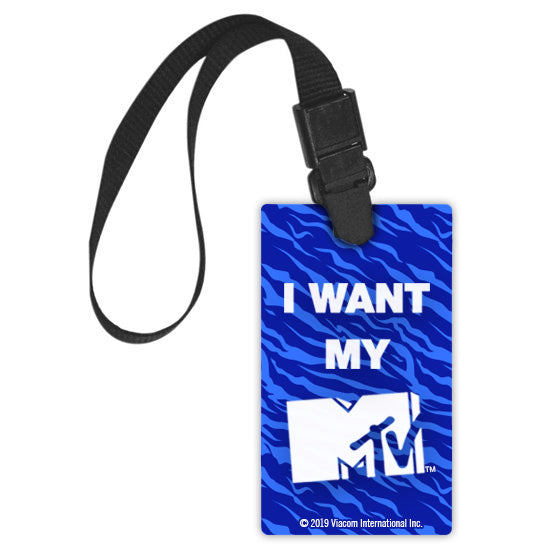 MTV Gear MTV Luggage Tag Luggage Tag